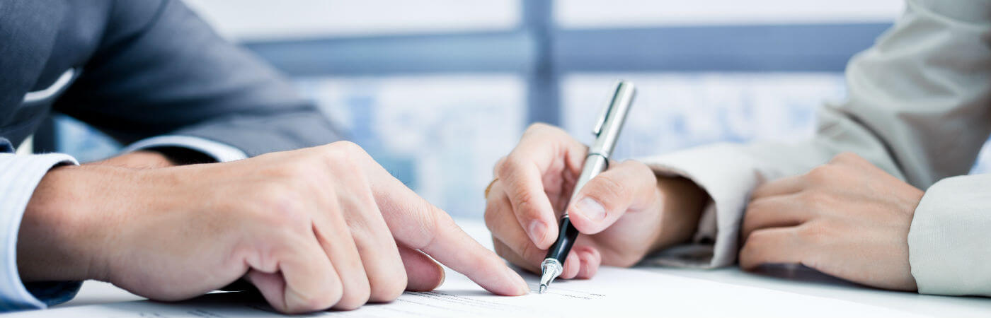 signing a contract of employment