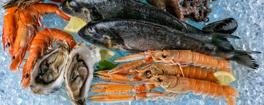 shellfish and other seafood